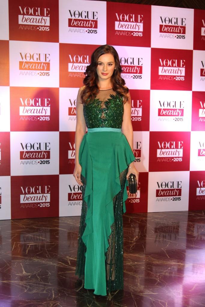 Evelyn Sharma at the Vogue Beauty Awards 2015, Palladium Hotel